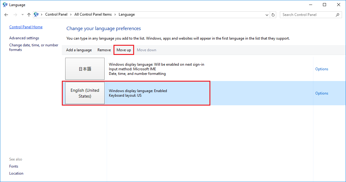 how to change date format in internet explorer